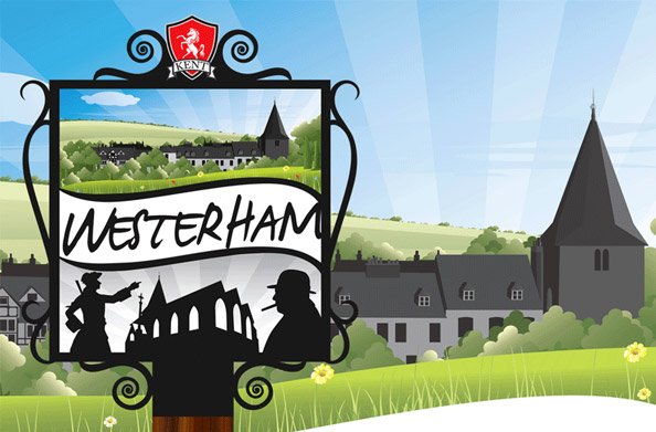 Westerham Town Sign Design